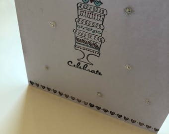 Anniversary or Wedding Card