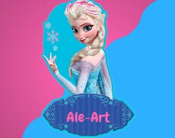 Printable Elsa Frozen Kit - Kit Imprimible Elsa Frozen - Instant Download - Descarga Instantánea