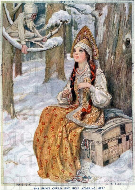 Enchanting Rare Jack Frost And Russian Princess Vintage