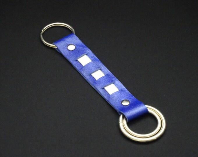 Rings-of-Fire Keyrings - Strap - Genuine Kangaroo Leather Keychain for Key Keys - Handmade - James Watson