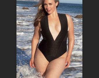 Plus size Bandage swimsuit/ bathing suit one piece, swimwear,  Top selling bathing suit