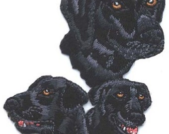 Embroidered LABRADOR RETRIEVER Dog Breed Iron-on/Sew on Patch Badge Applique DIY....choose black or yellow lab
