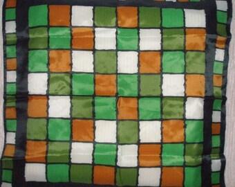 1960's Nasharr Japanese scarf