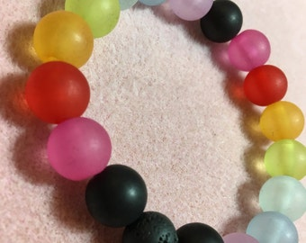 Rainbow Diffuser Bracelet No. 2