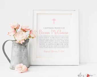 Baptism  Printable. Custom Baptism Sign. Christening Party. Baby Baptism. Baptism Sign Girl. Baptism Decorations. Baptism Party.