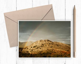 Rainbow Near Cuba NM fine art card (set of 4)