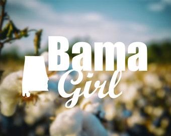 Bama Girl Decal