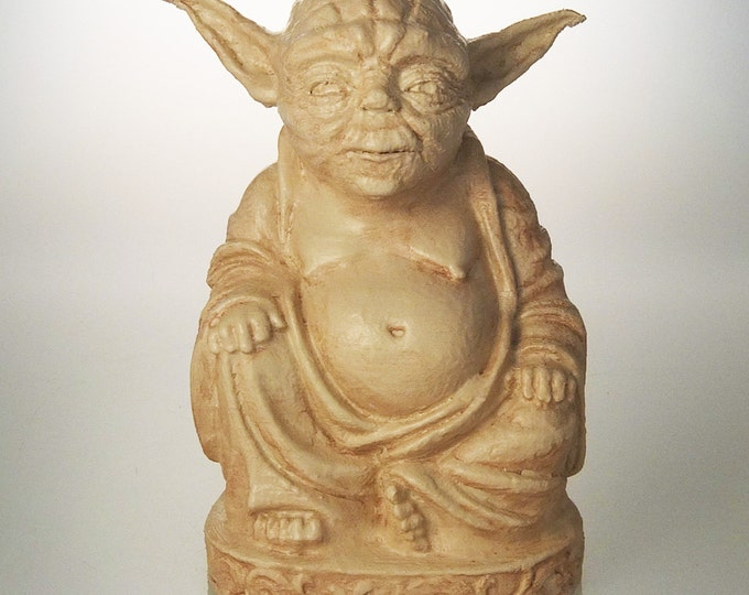 Star Wars - Yoda Buddha (Antiqued Sand)