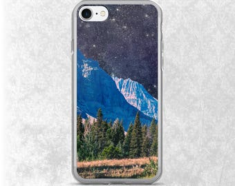 Outer Space Phone Case, Mountain iPhone 8 Case, Stars Galaxy S7 Case, iPhone 7 Case, Scenery Samsung Case, Surreal iPhone Case, Galaxy S6