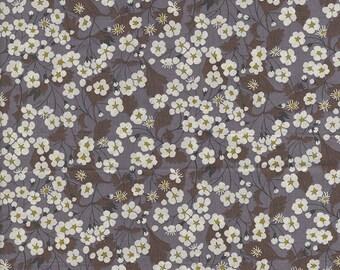 Grey classic Liberty of London Mitsi fabric coupon