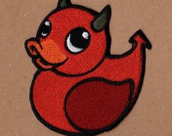 Devil Rubber Ducky Patch