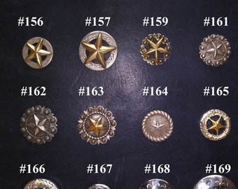 Conchos 16 to choose from (152-169)