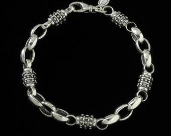 Achilles Bracelet, B.C. Silver Collection, 6215S
