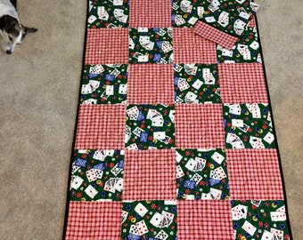 Casino Quilt 40x60 with pillowcase