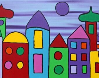 abstrakt art painting 47 x 20 x 1,5