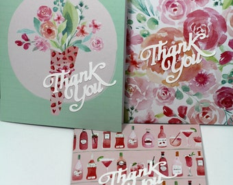 Special!!!! Thank you Card set of 3