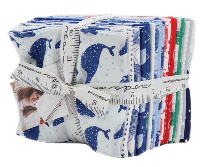 Featured listing image: Ahoy Fat Quarter Bundle 21 Pieces - Gingiber