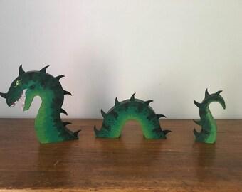 Table Top Sea Serpent (Green)