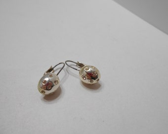 Vintage Rhinestone Pierced Earrings (8182) Sarah Coventry