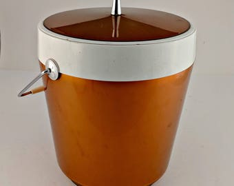 Vintage West Bend Ice Bucket - Mid-Century Modern - Very Good Condition
