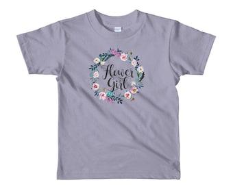 Flower Girl Shirt, Bohemian Flower Girl, My Flower Girl Gift, Thank Flower Girl, Flower Girl Present, Ask Flower Girl, Flower Girl Asking
