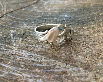 Sterling Silver Fritallaria Ring