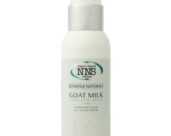 Sensitive Skin Goat Milk Facial Moisturizer, Fragrance, Gluten, Nut Free, Natural Beauty Skin Care