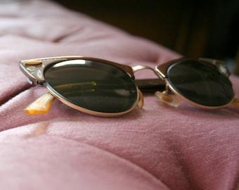 1950's Cat Eye Horn Rimmed Glasses