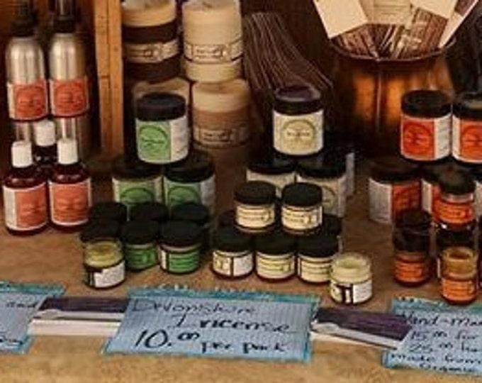 Organic Salves and Balms