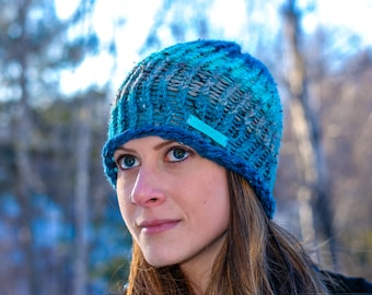 Knit Color-Changing Beanie