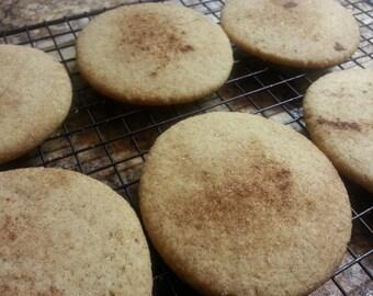 Snickerdoodle Cookies 1 Dozen Gourmet