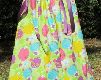 Easter Dress, Easter Egg Dress, Size 12 to 18 months, Ready to Ship