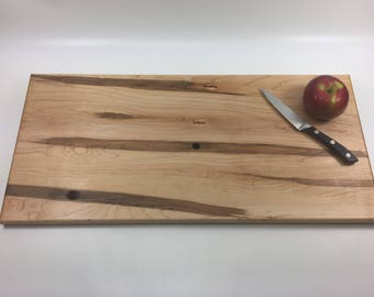 Maple Serving Board, Serving tray,  Cheese Board,  Salvaged Maple Ready to Ship