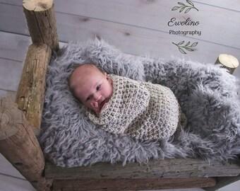 Crochet Baby Sleep Sack