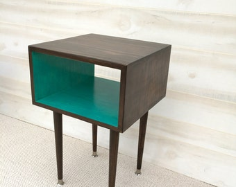 FREE SHIPPING!!  The Joilet Side Table Mid Century Modern Side Table  Midcentury Bed Side Table End Table