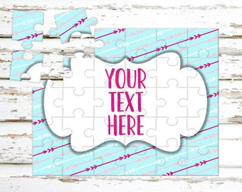 Create Your Own Puzzle - Pregnancy Announcement - Custom Puzzle - Personalized Puzzle - Announcement Ideas - Wedding Announcement - CYOP0214