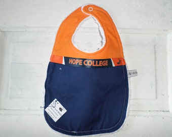 HOPE COLLEGE - Holland, MI.  Bib!!!!  Free Shipping!