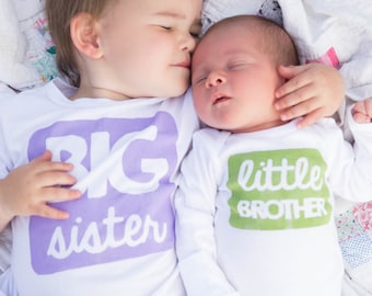 Big Sister Shirt - Big Sister Outfit - Big Sister Tshirt - Newborn Photoshoot Outfit - Baby Shower Gift - Pregnancy Announcement Shirt -