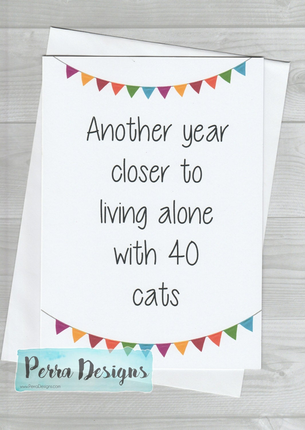 Funny birthday card friend aunt uncle cat lady humour zoom kristyandbryce Image collections