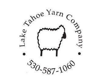 sheep custom rubber stamp yarn makers stamp crochet knitting