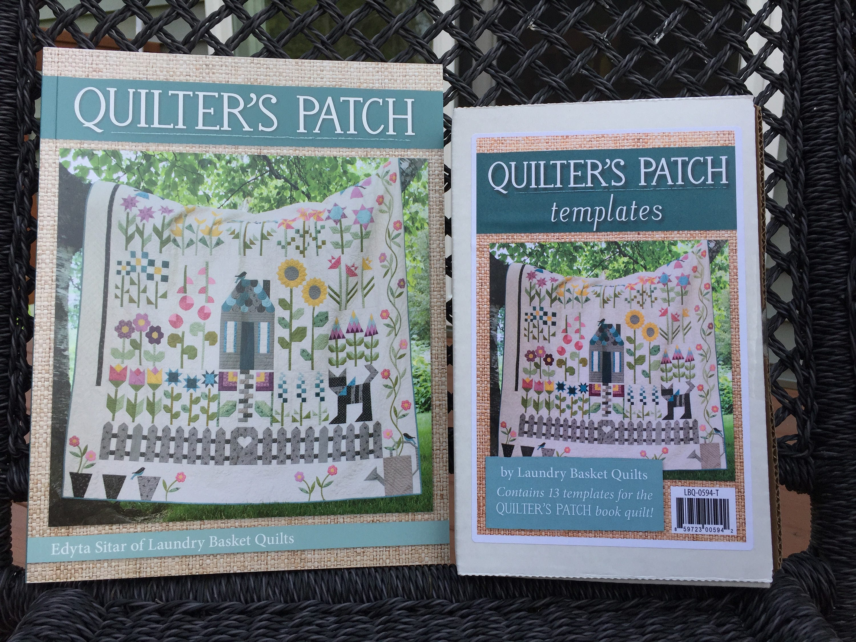 QUILTER\'S PATCH Book & Templates - Design by Edyta Sitar of Laundry ...