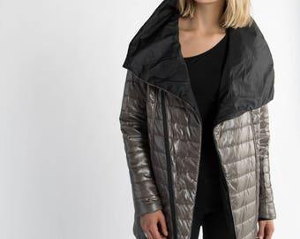 Stylish Jacket / Puffer Jacket / Winter Coat / Trendy Jacket / Elegant Jacket / Designer Coat / Marcellamoda - MC0977