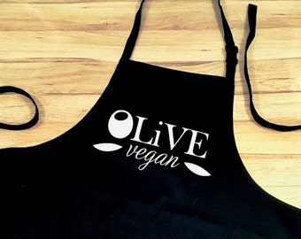 Apron Personalised with Business Logo Uniform Custom Adult Unisex Cafe Restaurant Coffee Shop Food Kitchen Market