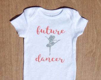 Future Dancer Onesie/Toddler Shirt