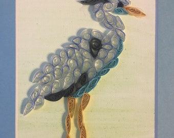 Paper Quilled Birds