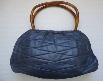 Morris Moskowitz Capeskin Leather Purse