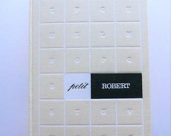 1970 French Dictionary Petit Robert