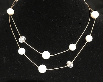Double up necklace
