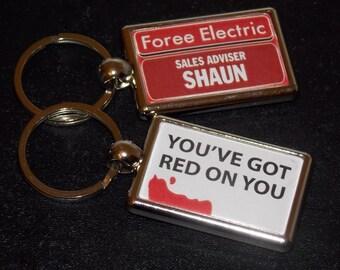 Shaun of the Dead Key Chain