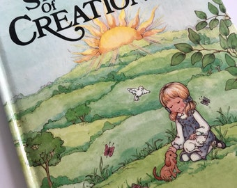 Book - The Story of Creation - Bible Vintage Storybook